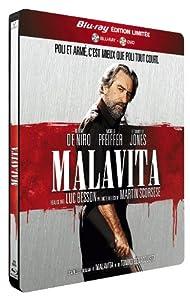 Malavita [Combo Blu-ray + DVD - Édition Limitée boîtier SteelBook]