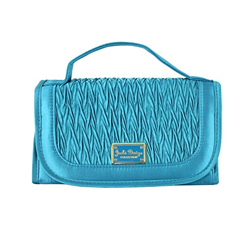 jacki-design-vintage-allure-roll-up-bag-organizer-jewelry-bag-turquoise-abd33057tq