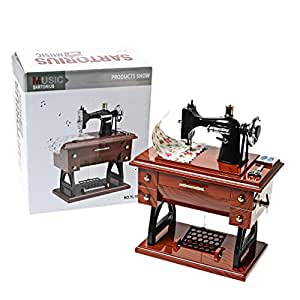 A szcxtop vintage mini sewing machine style - Small sewing machine table ...