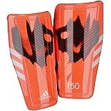 Adidas Performance Adizero F50 Shin Guard, Solar Red/White/Black, Large, Large/Solar Red/White/Black