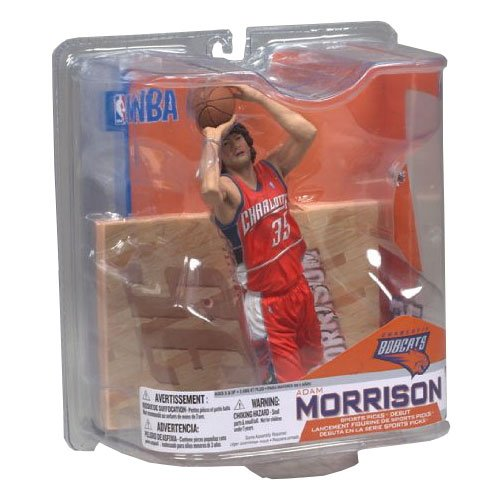 NBA Series 14: Charlotte Bobcats - Adam Morrison- Orange Jersey