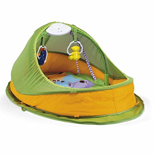 Lovely Kids Chicco Fun Deluxe Travel Fold And N Go Activity Nest Gym Tent Baby Napper front-775724