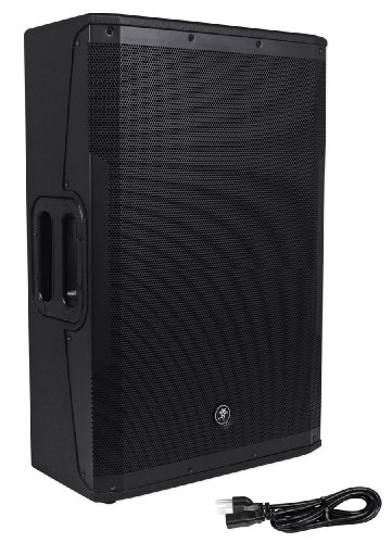 "Mackie Srm650 1600 Watt 15"" Powered Pa Speaker With High-Definition Audio Processing For Professional Sound With Unmatched Clarity"