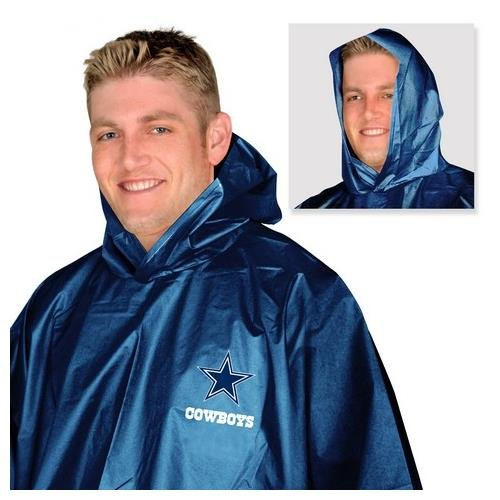 NFL Dallas Cowboys Rain Poncho at Amazon.com