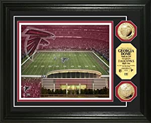 NFL Atlanta Falcons Stadium Gold Coin Photo Mint by Highland Mint