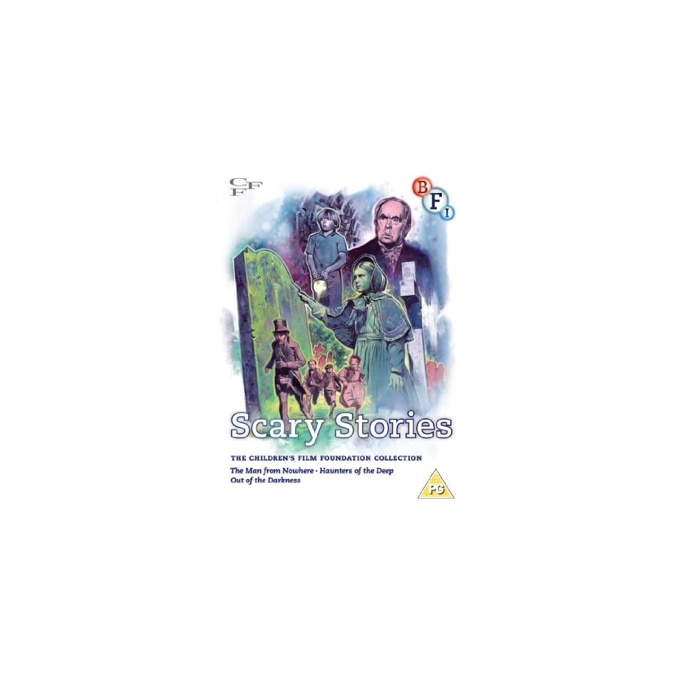 Childrens Film Foundation Collection (Vol. 4) Scary Stories ( The Man from Nowhere / Haunters of the Deep / Out of the Darkness ) [ NON USA FORMAT, PAL, Reg.2 Import   United Kingdom ]