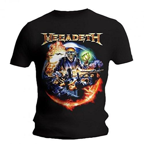 Megadeth -  T-shirt - ragazzo Black M
