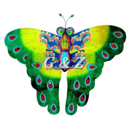 3d Green Butterfly Kites (Medium)