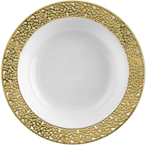 inspiration-5oz-white-w-gold-lace-border-plastic-bowls-10ct