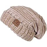 Funky Junque's C.C. Trendy Warm Oversized Chunky Soft Oversized Cable Knit Slouchy Beanie