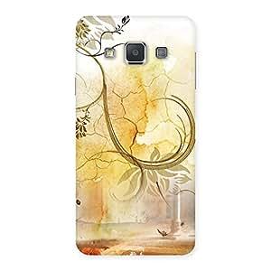 Impressive Nature Pattern Multicolor Back Case Cover for Galaxy A3