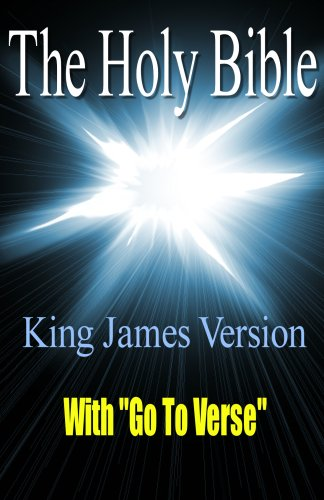 "King James Bible with ""Go To Verse"""