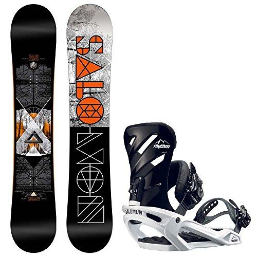 Herren Snowboard Set Salomon Sight 158W + Rhythm L 2017