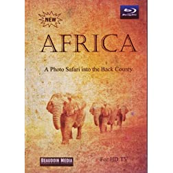 Africa A photo Safari into the Back Country [Blu-ray]