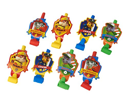 American Greetings Paw Patrol Party Blowers (8 Pack)