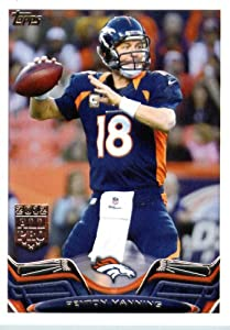 2013 Topps NFL Football Card # 200 Peyton Manning Denver Broncos In Protective... by Topps