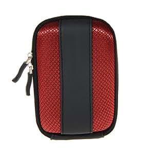 Red and Black EVA camera case for Canon Powershot SX260HS SX240HS D20 A1200 SX230 SX220 A800 A810 S95 A1300 KODAK EASYSHARE C143 C190 Z950 Sport JV123