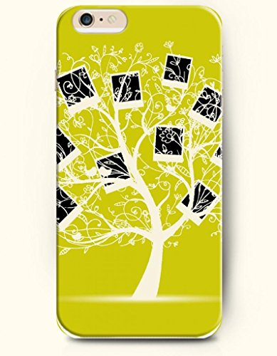 Oofit Phone Case For Iphone 6 Plus 5.5 Inches With The Design Of Picture Frame Tree And Kissing Birds