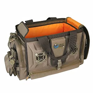 Wild River by CLC WN3701 Tackle Tek Rogue Stereo Speaker Bag (Trays not Included) by Custom Leathercraft