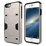 Amazon.co.jp: PhoneFoam FURY iPhone 6s/6 カード3枚収納 脱着可能なクリップ付きケース シャンパンゴールド: 家電・カメラ