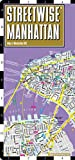 Streetwise Manhattan Map - Laminated City Street Map of Manhattan, New York - Folding pocket size travel map with subway map, bus map