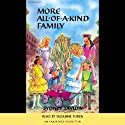 More All-of-a-Kind Family Audiobook by Sydney Taylor Narrated by Suzanne Toren