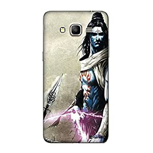 Customizable Hamee Original Designer Cover Thin Fit Crystal Clear Plastic Hard Back Case for Samsung Galaxy J5 (Powerful God Side Pose)