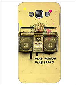PrintDhaba Radio D-3859 Back Case Cover for SAMSUNG GALAXY A7 (Multi-Coloured)