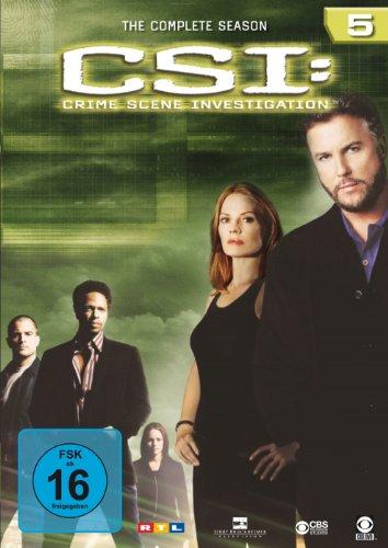Bild csi crime scene investigation die komplette season 5 6 dvds