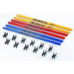 Kwik Goal 16B3101 30 Coaching Stick Hurdles by Kwik Goal, Ltd