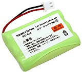 【ロワジャパン】【大容量 通話時間UP】 SANYO 三洋電機 コードレスホン 子機用 充電池 NTL-200 TEL-BT200 電話機用 交換 バッテリー