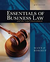 Essentials of Business Law and the Legal Environment, 9th Edition Front Cover