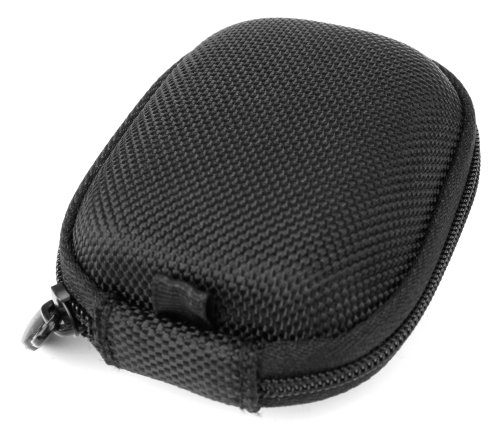 Duragadget Hard Eva Protective Storage Case / Bag For Headphones & Earphones In Black For Deleycon Bluetooth