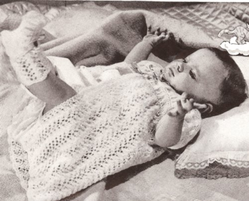 Infant Kimono Pattern front-1075410