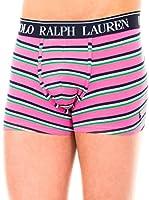 Ralph Lauren Bóxer Classic (Rosa / Morado / Verde)