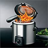 Deni 1 qt. Mini Stainless Steel Deep Fryer
