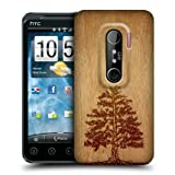Head Case Tree Wood Art Design Protective Snap-on Back Case Cover For HTC EVO 3D