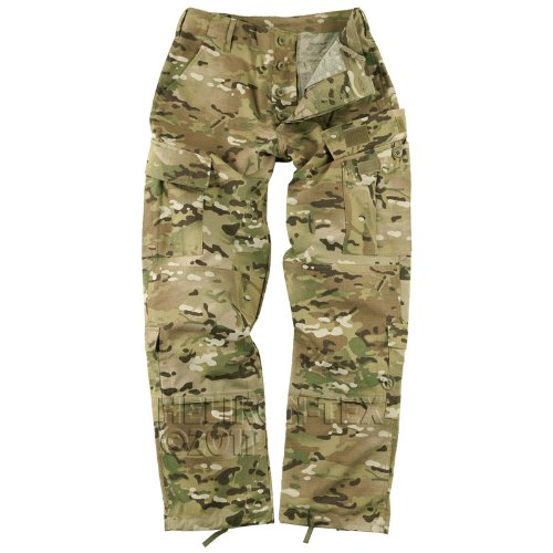 Helikon ACU Combat Mens Trousers Army Tactical Cargo Pants Ripstop MultiCam Camo