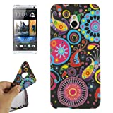 Rocina Protective TPU Case for HTC One Mini M4 Colourful Pattern