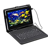 "9"" 8GB Dual Camera Android 4.1 Tablet A13 1.2GHz Wifi White + Black Keyboard"