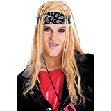 Rock Lover Adult Costume Wig