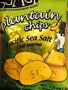 Amazon.com : Samai Plantain Chips Pacific Sea Salt 60-1.2oz : Gourmet ...