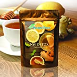 NW Detox Tea 14 Day Cleanse - Natural Weight Lose Tea | Iaso Tea | Flat Tummy Tea | 100% Organic Premium Cleansing Tea | The Best Tasting Tea You've Never Tried