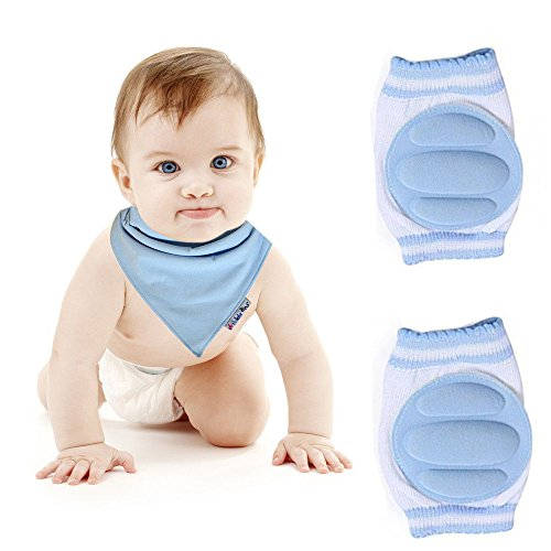 Bambini che «gattonano, Ginocchiera-Scaldamuscoli da neonato Baby-Ginocchiere per neonati Striscia di pellicola