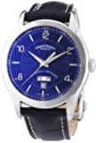 Armand Nicolet Men's Automatic Watch with Blue Dial Analogue Display and Blue Leather Strap 9740A-BU-P974BU2