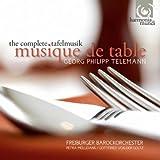 Telemann: Complete Tafelmusik / harmonia mundi