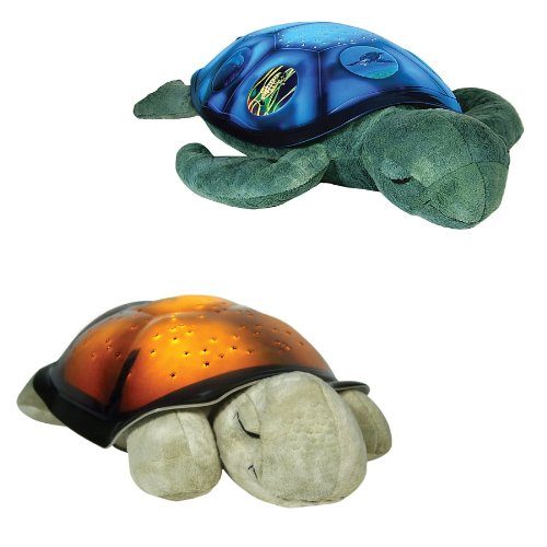 Twilight Turtle AND Sea-Turtle Constellation Nightlight GIFT PACK (2 Items) from Cloud B