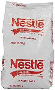 Nestle Hot Cocoa Mix, Vend Whip, 2 Pound Package