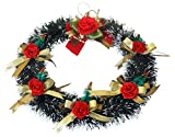 CHRISTMAS WREATH WITH DECORATION BY DECORIKA