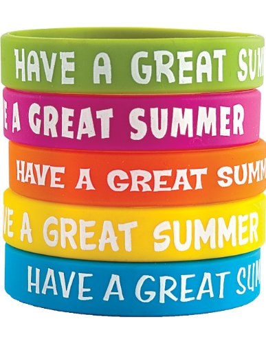 Teacher Created Resources Have A Great Summer Wristbands (6583) - 1